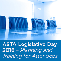 ASTA Legistrative Day 2016