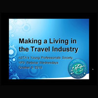 Making a Living in Travel