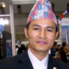[Photo: Ram Ghale - Chapter President]